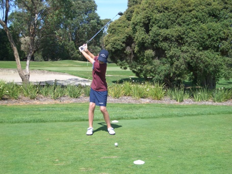 On Course Play by a Junior Clinic Member